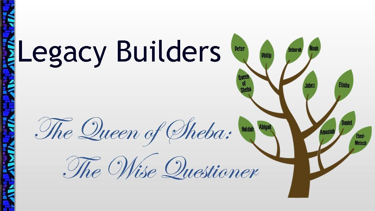 June 21, 2020 Service: The Queen of Sheba: The Wise Questioner (Replay)