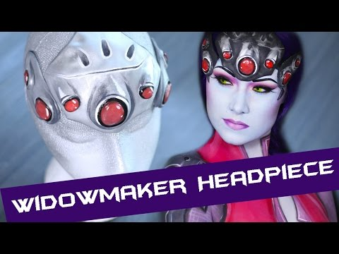 HOW TO: Widowmaker's Headpiece/Makeup Appliance