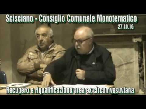 Consiglio Comunale Monotematico su Ex Circumvesuviana