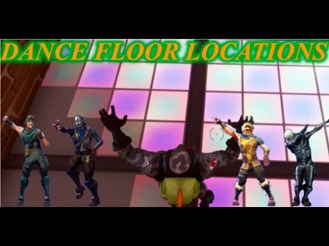 Dance Floor Locations--Fortnite Week 8 Challenge