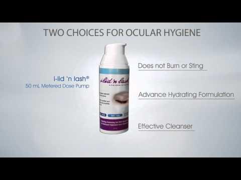 i-lid 'n lash® daily solution for good ocular hygiene