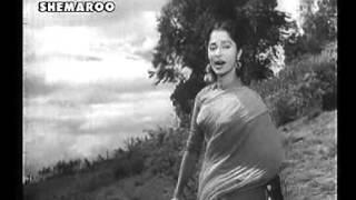SAANJH DHALI DIL KI LAGI - MANNA DEY - ASHA BHONSLE - SHAILENDRA - S D BURMAN  (KAALA BAZAR (1960)