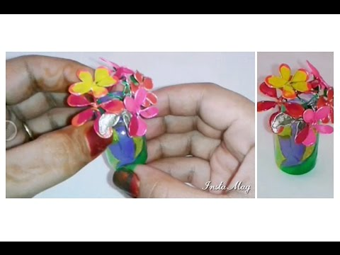 Diy Miniature Flower Vase Make A Beautiful Flower Vase Using Only