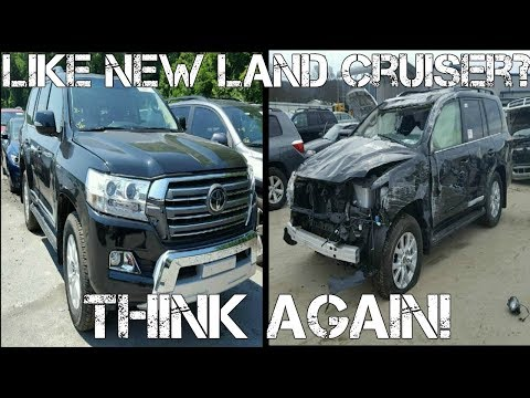 New $85k Toyota Land Cruiser LOOKS Perfect BUT is Hiding SEVERE Damage at the Salvage Auction