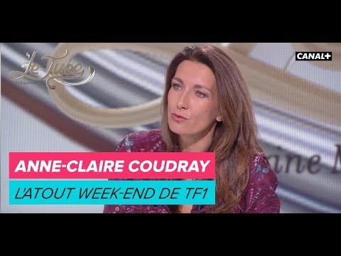 Anne-Claire Coudray, l'atout weekend de TF1 - Le Tube du 21/10 – CANAL+