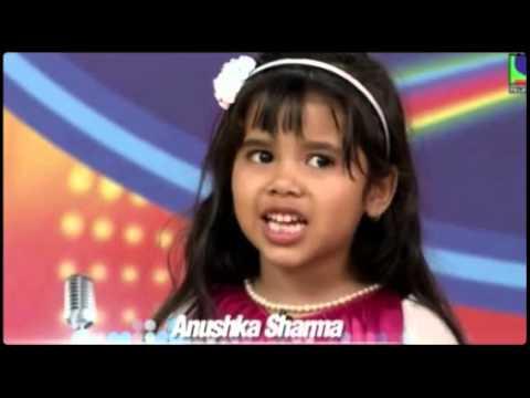 Anushka Sharma Indian Idol Junior Special Appearance Clips