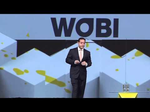 Delos CEO Paul Scialla at WOBI World Business Forum