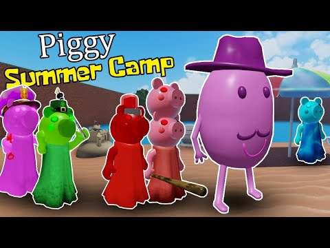 Summer Camp Roleplay Roblox Roblox Piggy Summer Camp Rp Youtube