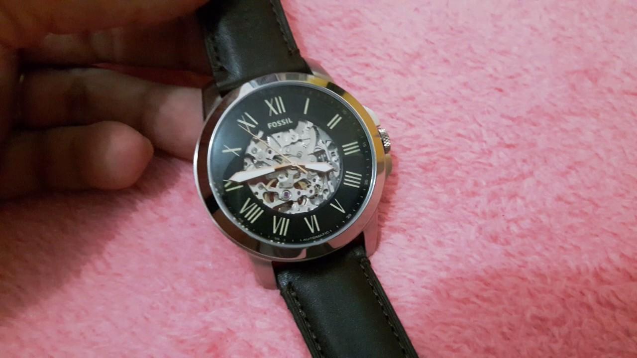 Relógio Fossil ME3100 (Automático). - YouTube