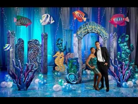 Under The Sea Decorations Youtube