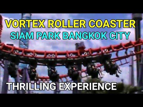 Vortex Roller Coaster at Siam Park Bangkok City
