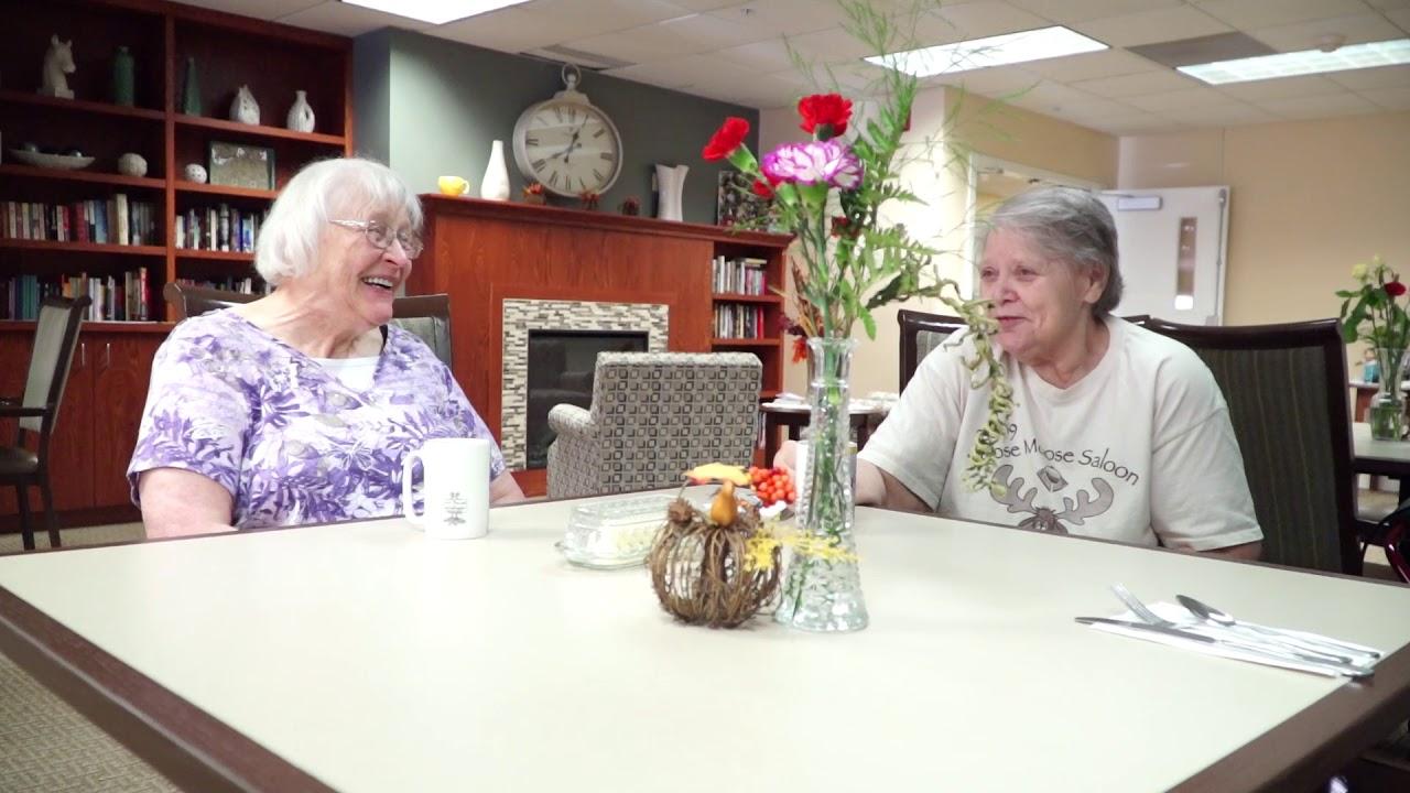 Oak Hills Living Center New Ulm Mn Assisted Living Youtube