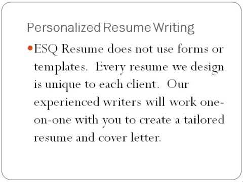 Lawyer sues resume writing company
