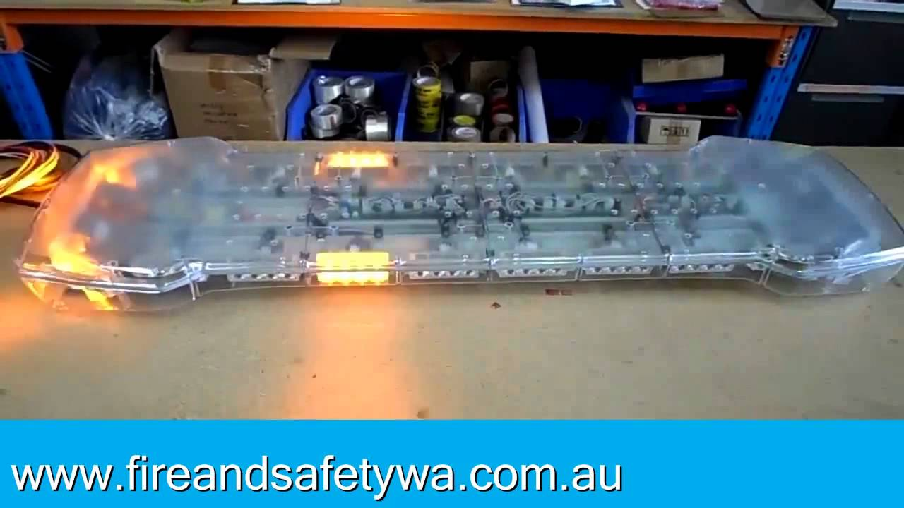 Fire safety wa hazard 10 series light bar youtube fire safety wa hazard 10 series light bar aloadofball Choice Image