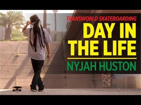 Day In The Life: Nyjah Huston - TransWorld SKATEboarding