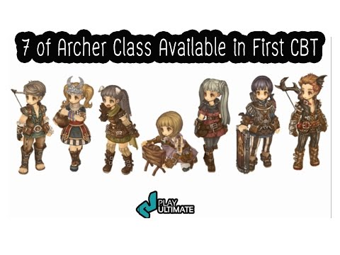 [Multi Language] Tree of savior 7 class of Archer Available the First CBT แนะนำ7อาชีพสายนักธนู