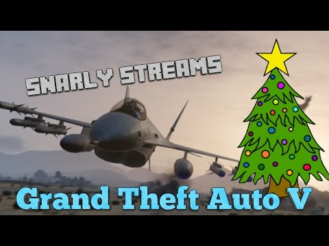 Snarly Streams - GTA Online with Friends! - PC - Moar Paper Stackz!