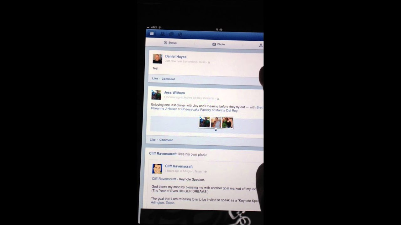 Delete a facebook post on iphone or ipad update youtube delete a facebook post on iphone or ipad update ccuart Image collections