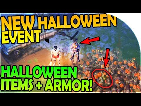NEW HALLOWEEN EVENT + HALLOWEEN ITEMS + ARMOR INBOUND! - Last Day On Earth Survival 1.6.4 Update