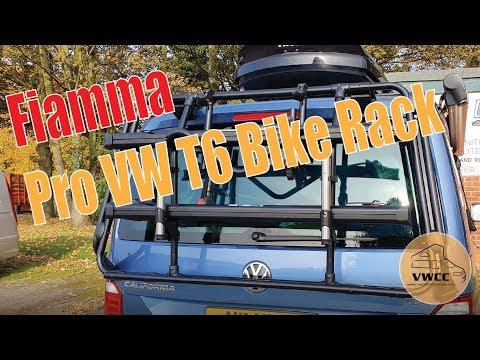 How to fit the Fiamma Bike Rack Pro Black - VW T5 & T6