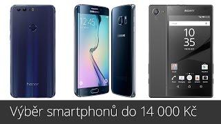 Výběr smartphonů do 14 000 Kč