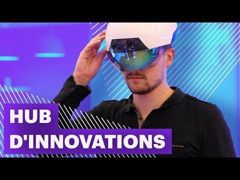 A la découverte du hub d'innovations d'Accenture à Sophia Antipolis