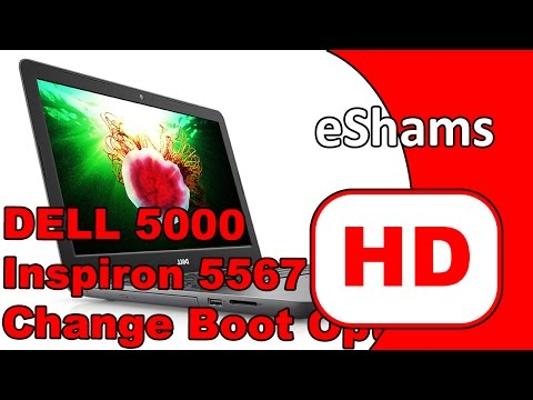 Dell Inspiron 5000 Series 15 5567 Change Boot Option Uefi To Legacy