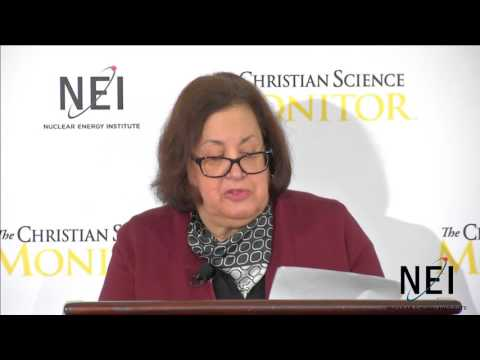 Why nuclear will sustain our low-carbon future with Eileen Claussen