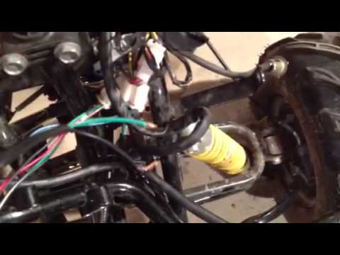 110 Dirt Bike Wiring Diagrams Chinese 110cc Atv Help Youtube