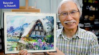 水彩画 柴崎 【Creators Interview】水彩画講師40年のキャリアを持つ柴崎春通が個展を開催。73歳YouTuber、50万人以上のフォロワーを持つ彼の魅力に迫る