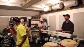 Slavery Days Burning Spear & Burning Band rehearsal