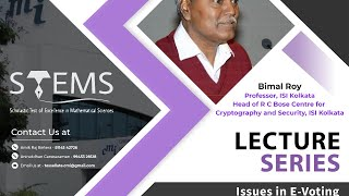 Issues in E-Voting | Bimal Kumar Roy