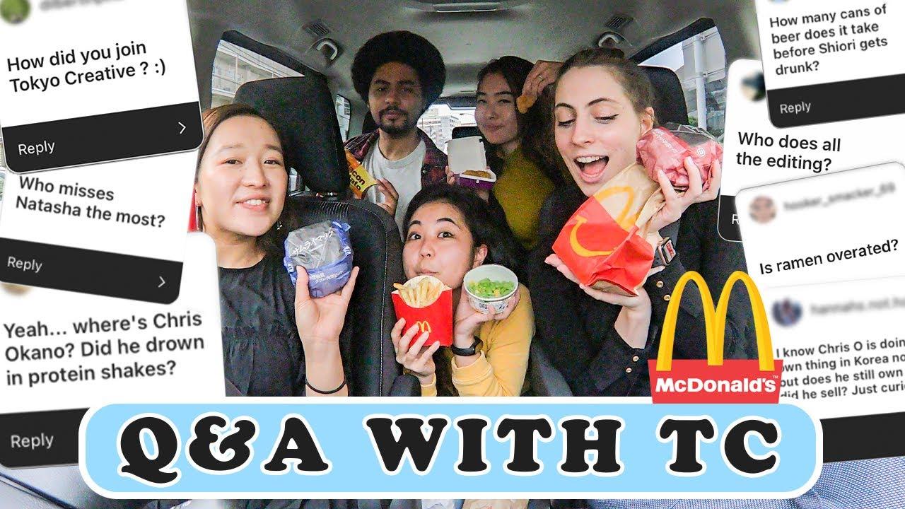 Driving Around Tokyo + Q&A With TC Staff + Drive-thru At Japanese McDonalds