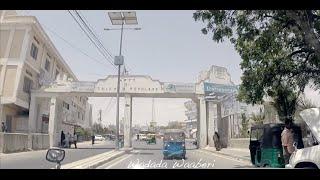 Driving In Somalia - Mogadishu Streets