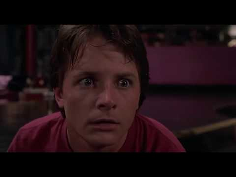 Back to the Future Part II/Best scene/Michael J. Fox/Thomas F. Wilson/Billy Zane/Lea Thompson