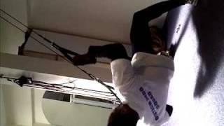 Winston Gordon (World Class GB Judo) on the War Machine/CrossCore 180 at Balance Performance