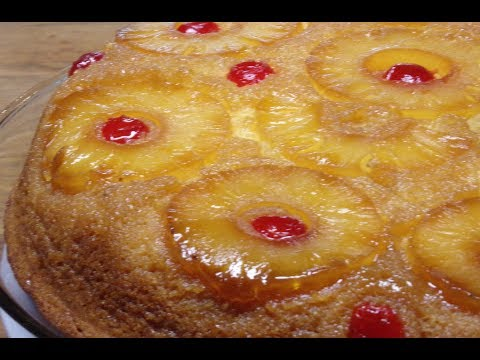 How To Make Supreme Pineapple Upside Down Cake! (Episode - 18)