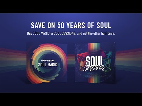 Save On 50 Years Of Soul | Native Instruments
