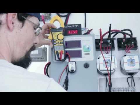 Wind Turbine Testing: VOC on the Freedom II Generation 5 Wind Turbine