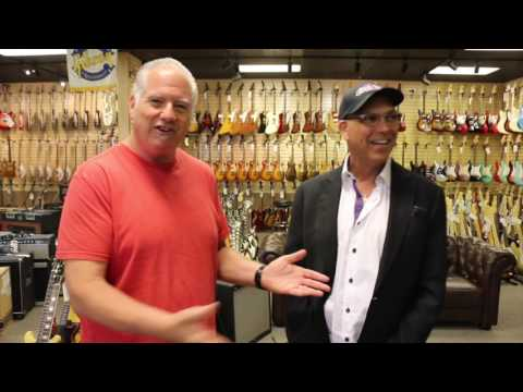 Sam Ash visits Norman's Rare Guitars