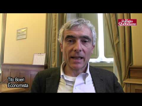 """Tito Boeri: """"Le Fondazioni hanno minato stabilità delle banche"""""""