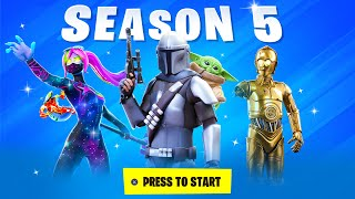 *NEW* Fortnite SEASON 5 - SKINS, LIVE EVENT + MORE (Secret Info)