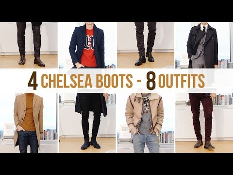 8 Different Chelsea Boot Outfits | Men's Fashion Outfit Ideas