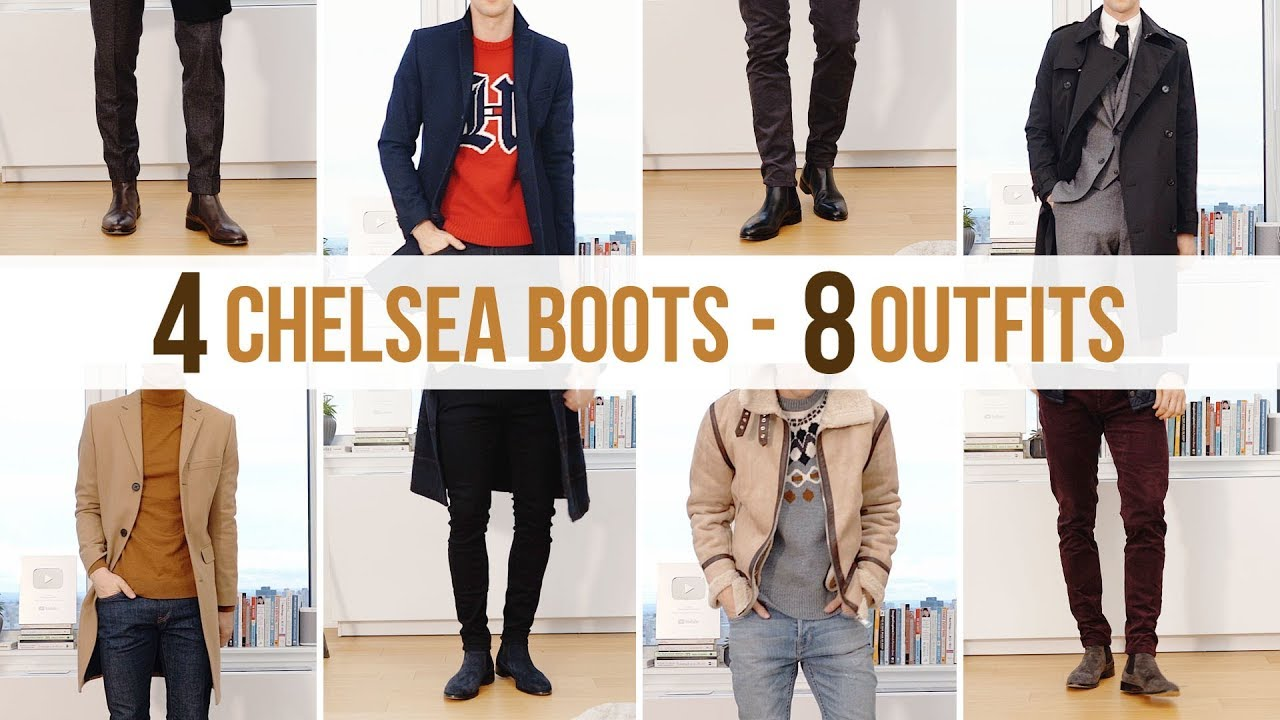 8 Different Chelsea Boot Outfits   Men