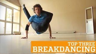 Fac breakdance intr-un mod cu totul aparte!