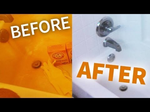 Beautiful How To Remove Rust From Your Bathroom Easy Way!