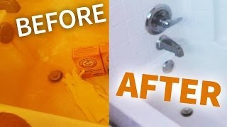 How to Remove Rust From Your Bathroom Easy Way!