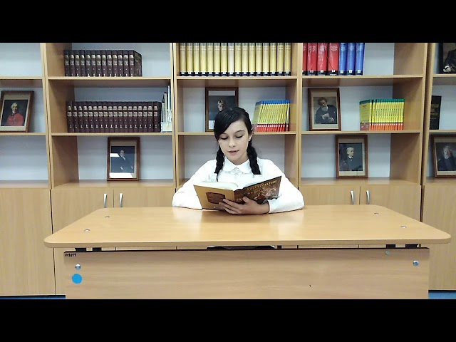 Изображение предпросмотра прочтения – ЗохроханСатибалдиева читает произведение «Восточная легенда» И.С.Тургенева