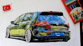 Modifiyeli Araba Çizimleri 2020