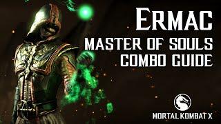 Download Video Mortal Kombat X: ERMAC (Master of Souls) Beginner Combo Guide MP3 3GP MP4